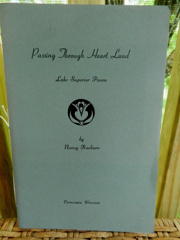 Nancy Raeburn's Passing Through Heart Land poetry book