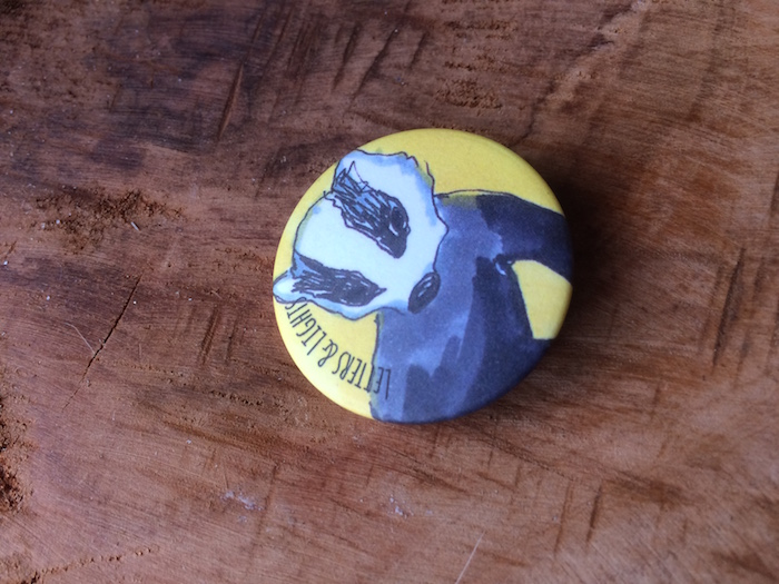 Hufflepuff button