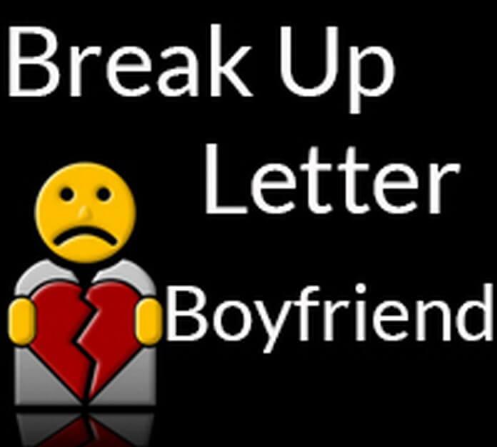 Break Up Letter to Boyfriend - Free Letters
