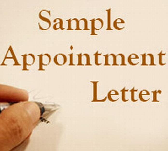 Appointment Letter Archives - Free Letters
