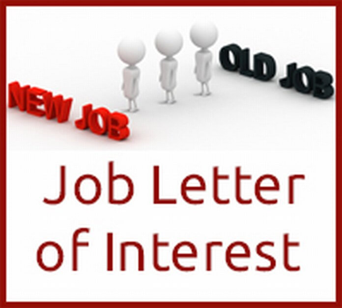 Job Letter of Interest - Free Letters