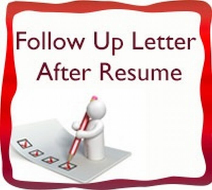 Fast Online Help & Writing Resume Follow Up Letter