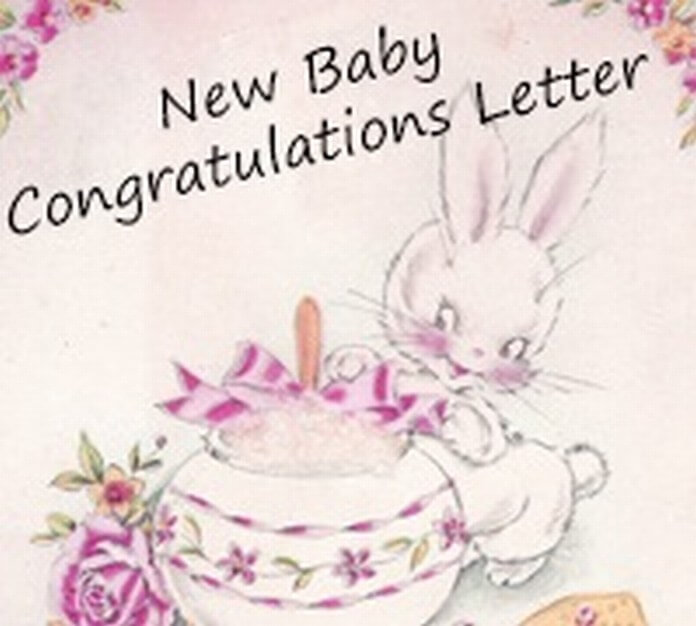 congratulation for a new baby