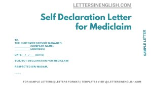 sample letter to insurance company for mediclaim, letter seeking mediclaim from medical insurance company