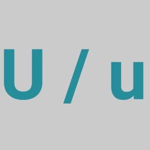 Letter U - The Letter U
