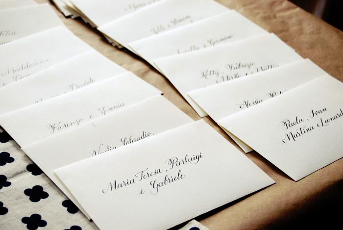 Partecipazioni Matrimonio Nome Invitati.Buste Nomi Indirizzi Letters Love Life