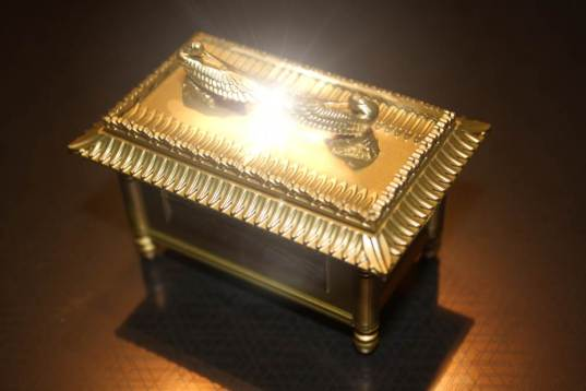 The Ark of the Covenant, based on the model used by the filmmakers of Indiana Jones: Raiders of the Lost Ark.