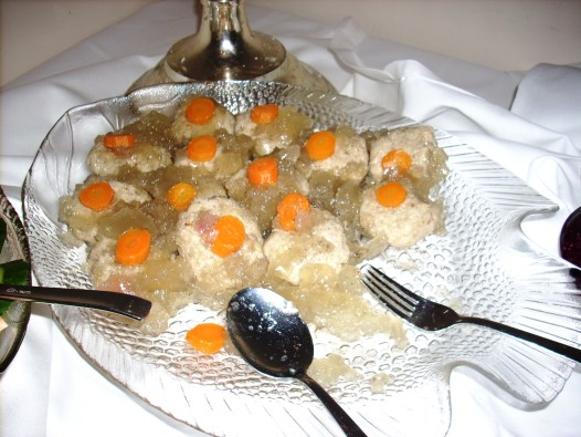 Also known as the inventors of Gefilte Fish. ...which, contrary to what popular culture may have you believe, is NOT the pinnacle of Jewish cuisine. Ashkenazi cuisine is the most boring and bland of all the Jewish cuisines!