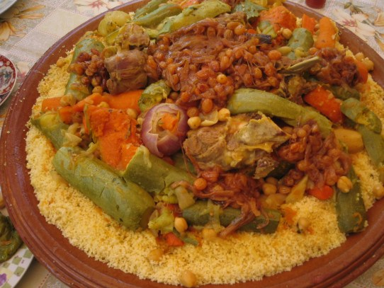 Now that's what I'm talkin' about. Moroccan cuisine is my favorite!