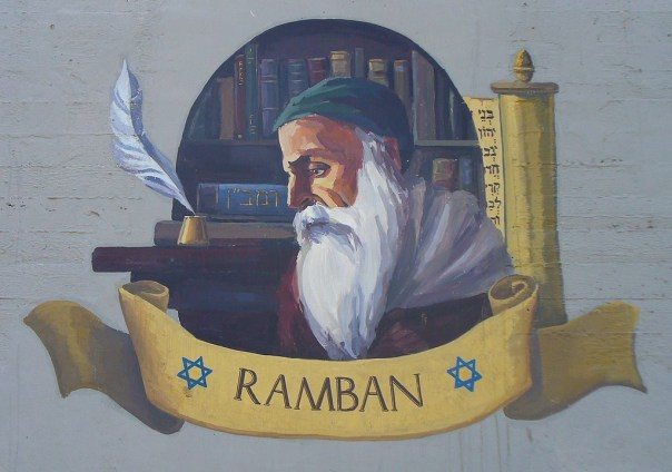 Wall painting depicting the Ramban