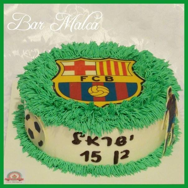 barcelona fcb soccer birthday cake
