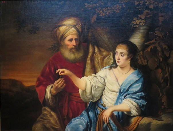 painting of Judah and Tamar