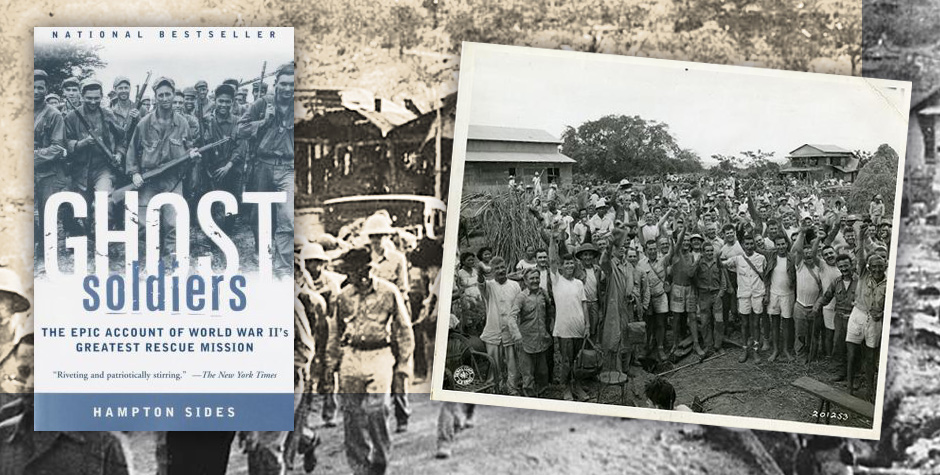Ghost Soldiers tells the epic tale of US Army Rangers rescuing POWs during WWII.