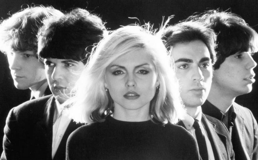 Group photo of the rock band Blondie.