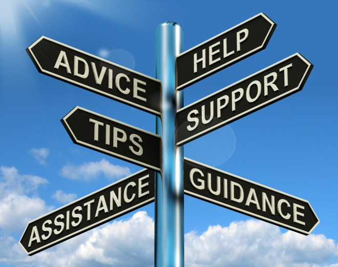 Seeking guidance from others can help