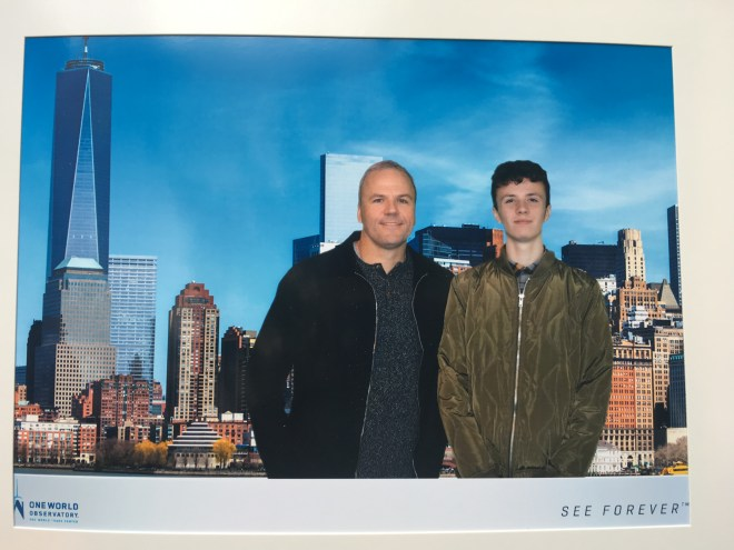 Photo from our visit to World Trade Center