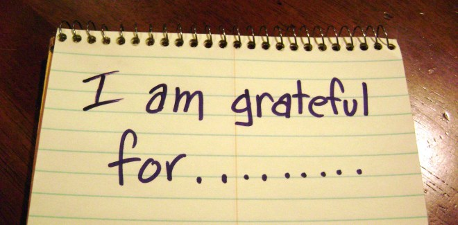 Studies show that gratitude is a healthy habit.