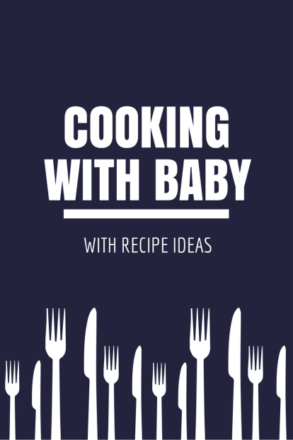 Cooking with baby