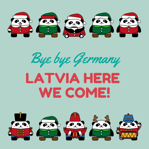 Latvia here we come!