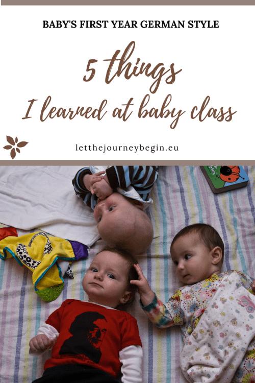 PEKIP baby class