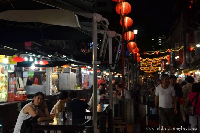 Singapore Chinatown food