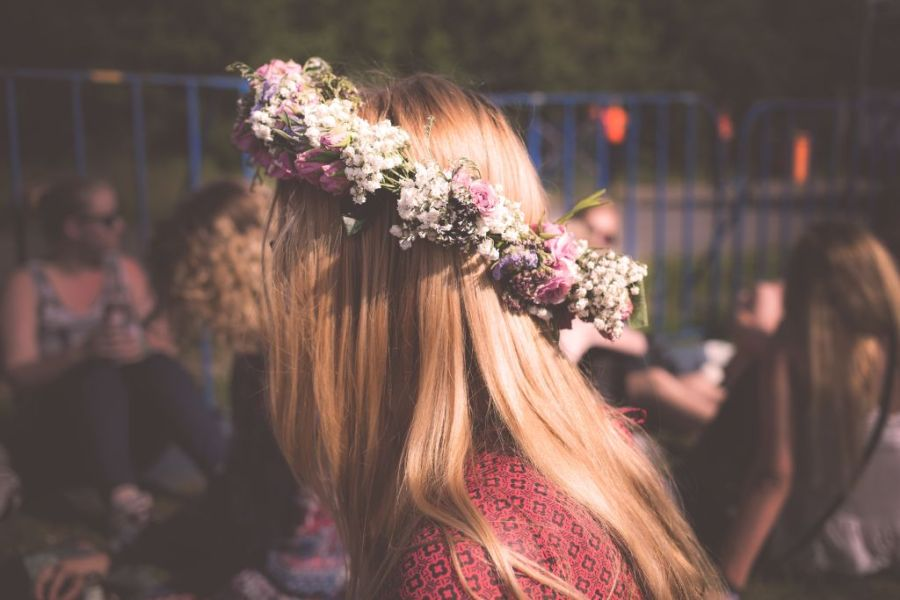 Midsummer in Latvia | wildflower wreaths