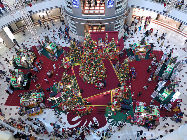 Christmas tree KLCC