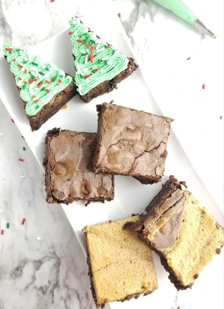 gluten free brownies three ways