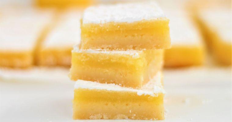 Perfect Gluten Free Lemon Bars
