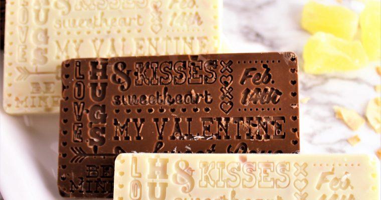 Valentine's Chocolate Bars