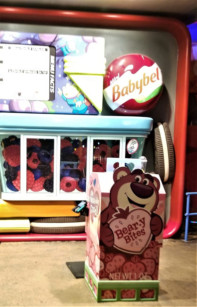woody's lunchbox milk carton at disney's toy story land