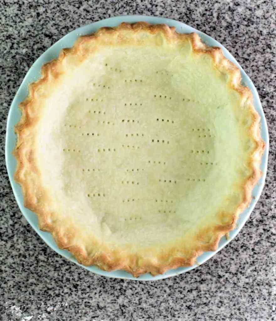 blind baked gluten free pie crust