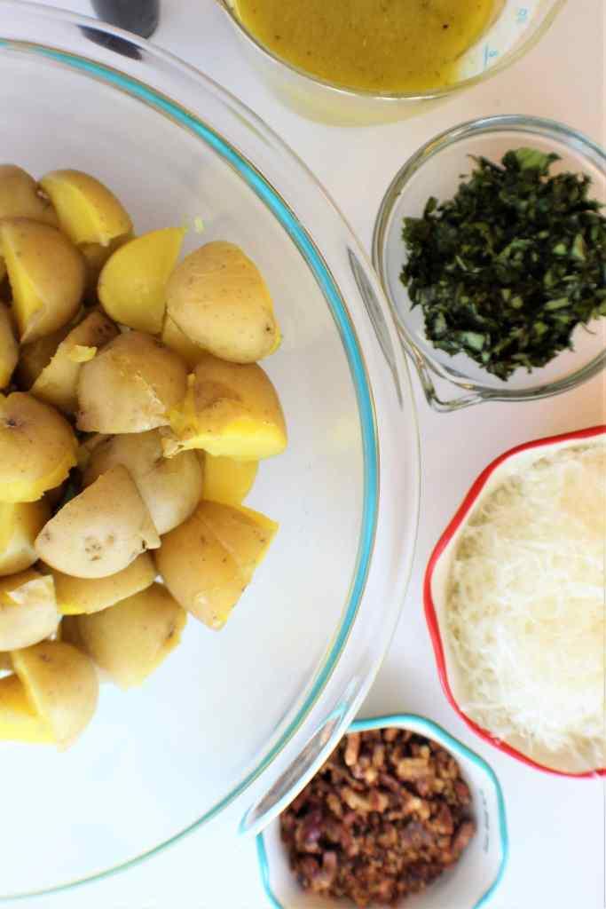 lemon basil potato salad ingredients