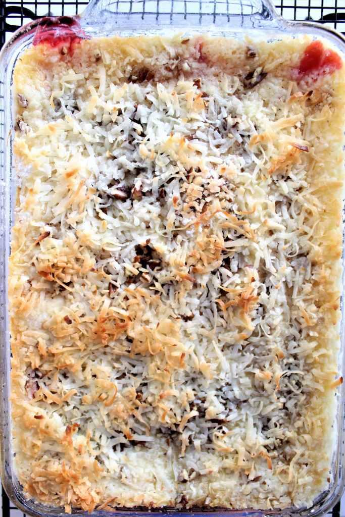 baked gluten free dump cake