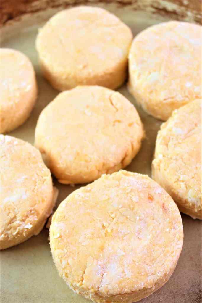 cut sweet potato biscuits