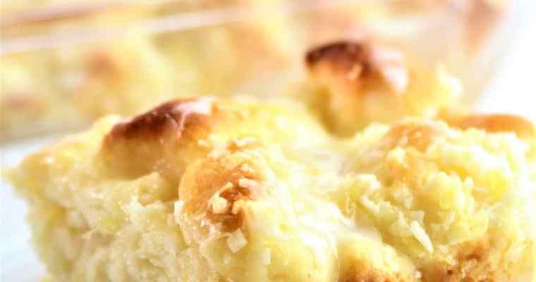 Gluten Free 'Ohana Pineapple Bread–A Disney Copycat Recipe