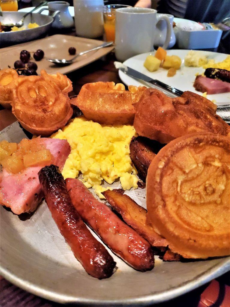 ohana gluten free breakfast plate