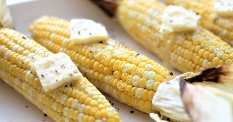 No Fuss Grilled Corn on the Cob
