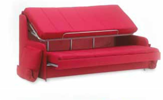 Divano letto a castello Mr Hide tre letti in un divano