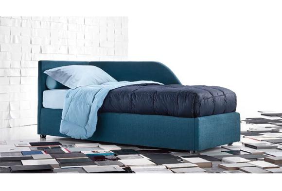 Letto imbottito Sirio 11 modelli dal sommier al divano