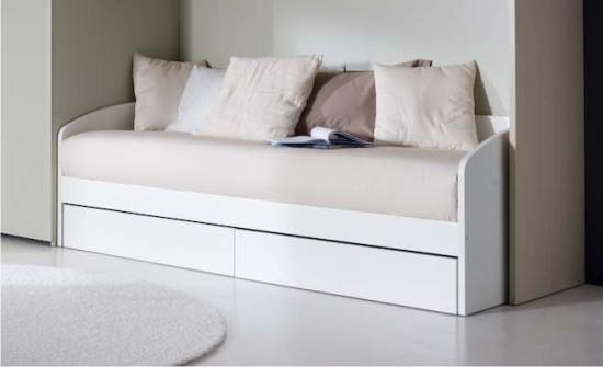 Letto a divano in legno Ghiro  Doimo Dielle