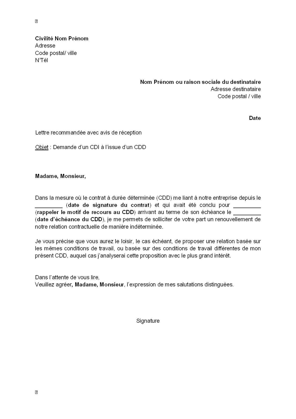 avis cv lyceen modele lettre type