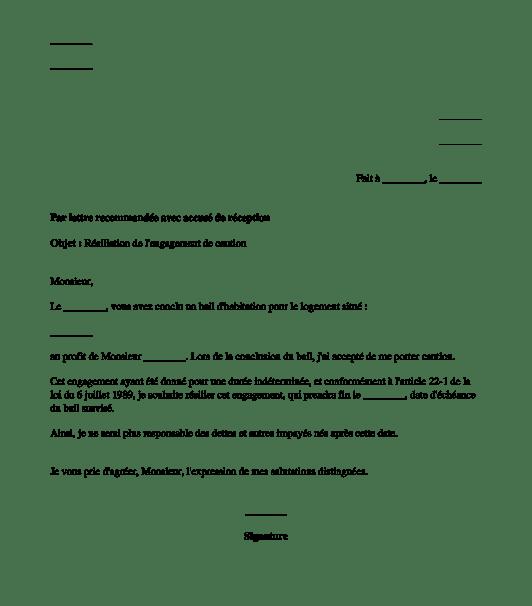 image lettre resiliation contrat location appartement lettre de presentation