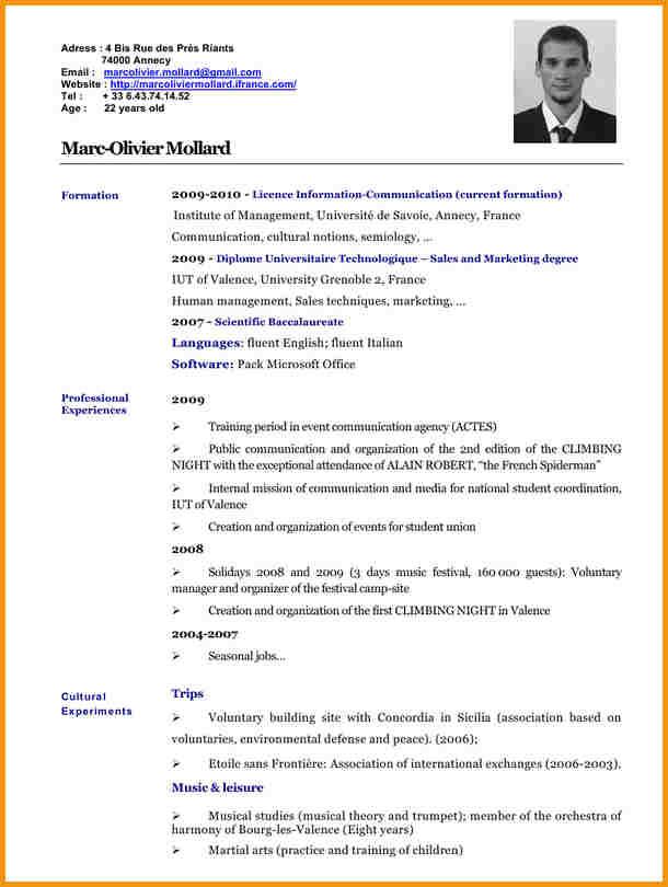 faire cv en ligne pdf