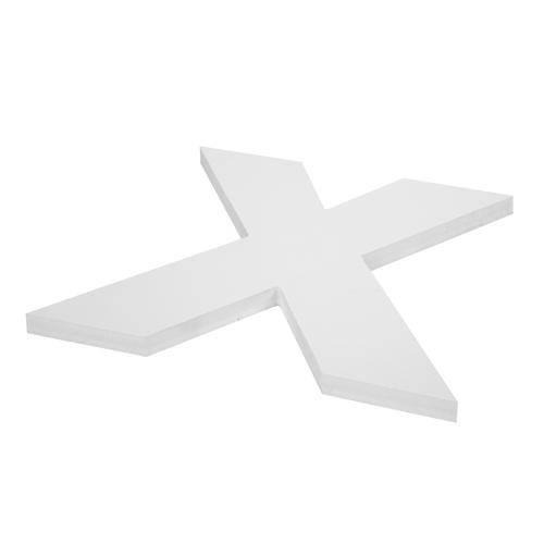 Lettre découpée PVC expansé blanc - Matériaux de découpe numérique