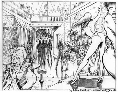 immagine di fumetti, di Max Bertuzzi