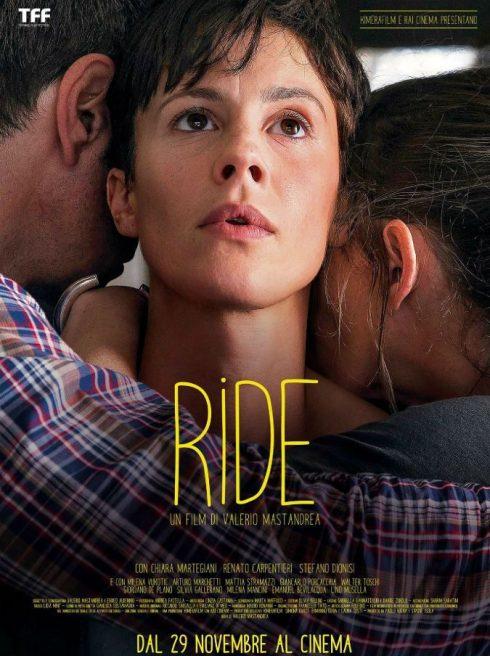 "Locandina del film ""Ride"" Valerio Mastandrea"