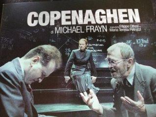 Il libretto dell'opera teatrale Copenaghen