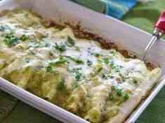 Green Enchiladas {vegetarian}