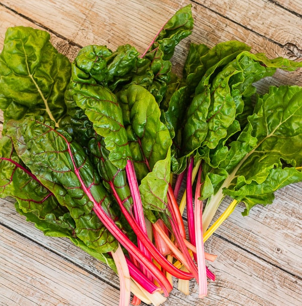 Rainbow chard for Rainbow Chard Frittata | Letty's Kitchen